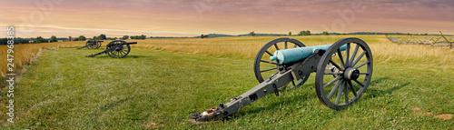 Fotografie, Obraz  Gettysburg Battlefield