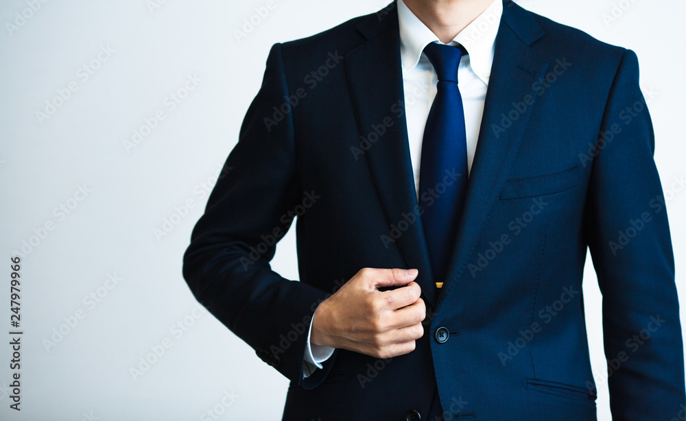 Fototapeta ビジネス 男性 スーツ