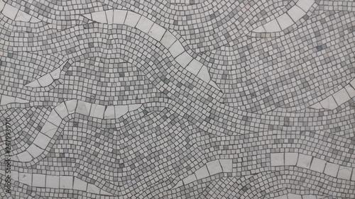 Fotografia white mosaic