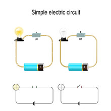 Simple Electric Circuit. Elect...