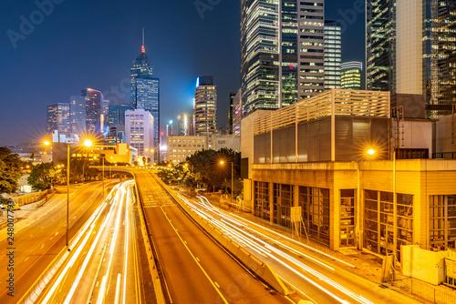 Fototapety, obrazy: Hong Kong Cityscape