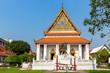Leinwanddruck Bild - The Buddaisawan Chapel at Bangkok National Museum, Bangkok, Thailand, Asia