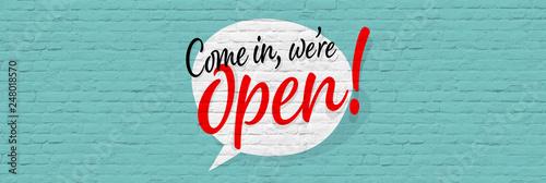 Pinturas sobre lienzo  Come in, we're open