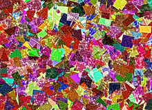 Patchwork Science Colorful Backgrounds