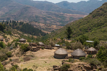 Village Houses In Lesotho