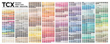 Color  Table Pantone Of The Fa...