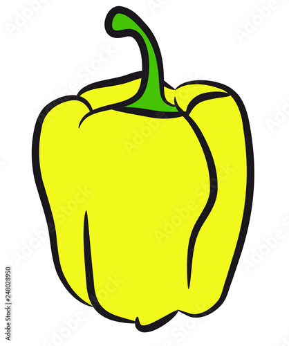 Papryka żółta