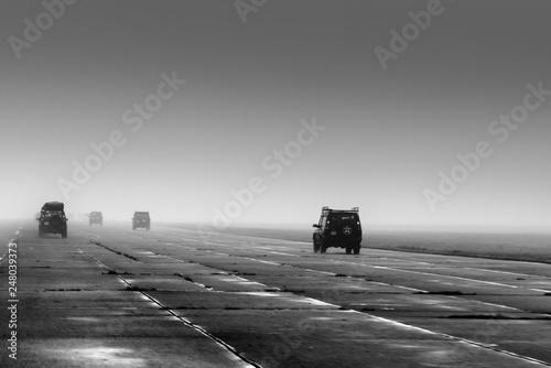 Photo  Land Rovers
