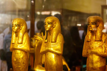 Ancient Egyptian Golden Statue...