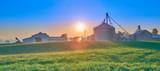 Sunrise Over Farm, KY