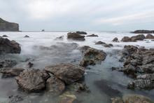 Trevaunance Cove Cornwall England Uk