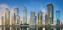 Jumeirah Lakes Towers In Dubai...
