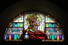 Salomon. Vitrail. Eglise Saint...