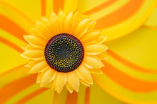 Large Yellow Artificial Sunflo...