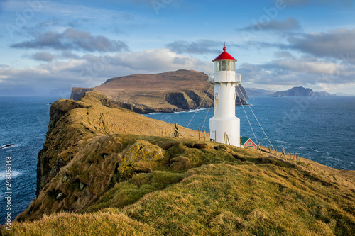 Foto Mykines Holmur Lighthouse