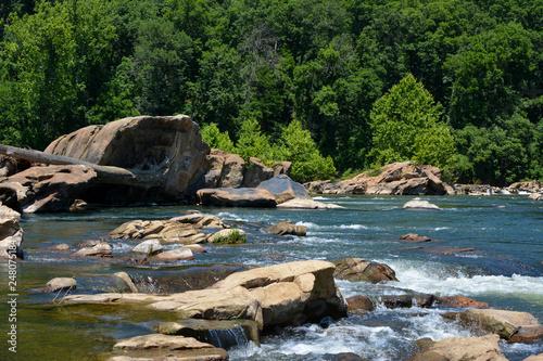 Recess Fitting Forest river Rappahannock River near Fredericksburg, Virginia