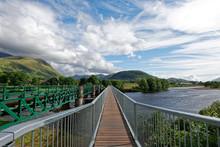 Schottland - Fort William - River Lochy - Soldiers Bridge