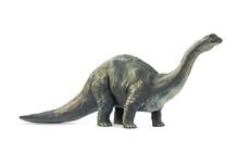Long Necked Dinosaur Eating Pl...