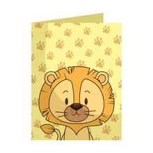 Cute Little Lion Character