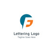 Lettering F Vector