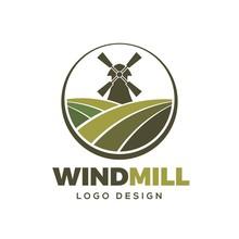 Windmill Farm Logo Design