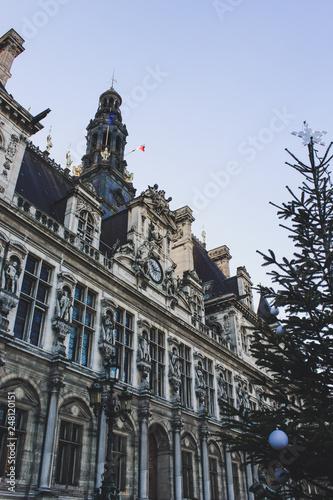 Foto  Christmas in Paris, France