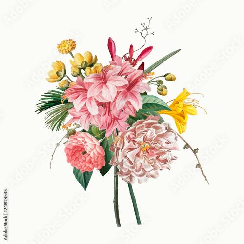 Fotografija Vintage flower bouquet