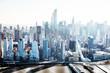 Manhattan Skyline With New World Trade Center