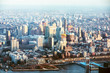 Brooklyn Bridge Across East River In New York City