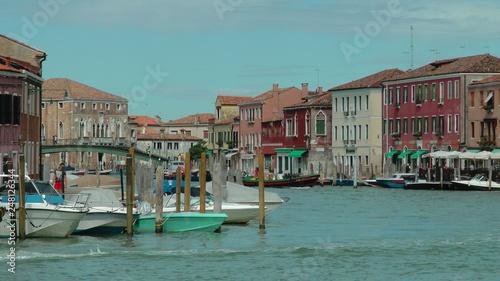 Fototapety, obrazy: canal de Murano, Italie