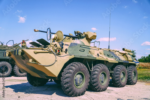 Leinwand Poster Russian infantry Fighting vehicle IFV