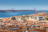 Aerial view of Lisbon, Portugal - 248133160