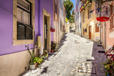 Streets near the Sao Jorge Castle, Lisbon, Portugal - 248133161