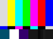 No Signal / Test Pattern For W...