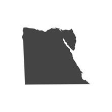 Vector Egypt Map