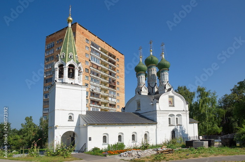 Photographie  Summer view of the parish Church of the Assumption of the Mother of God on Ilyin