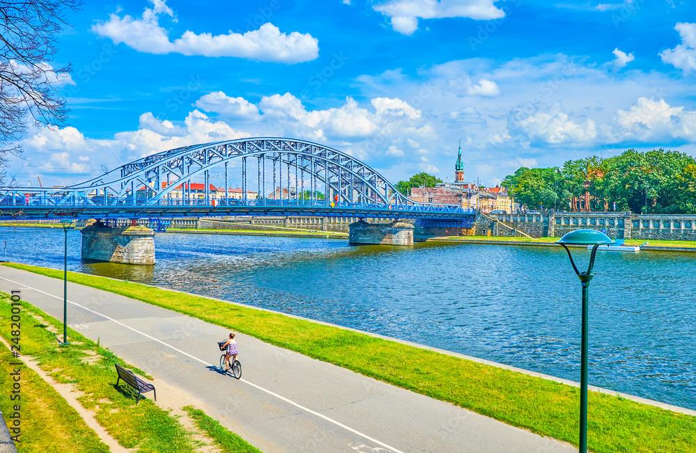 Fototapety, obrazy: The Bridges In Krakow, Poland