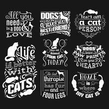 Collection Of Quote Typographi...