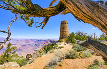 Grand Canyon South Rim Am Navajo Point