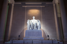 The Lincoln Memorial In Washington DC Early Morning