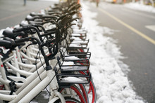 Bicycle Rental Service On City...