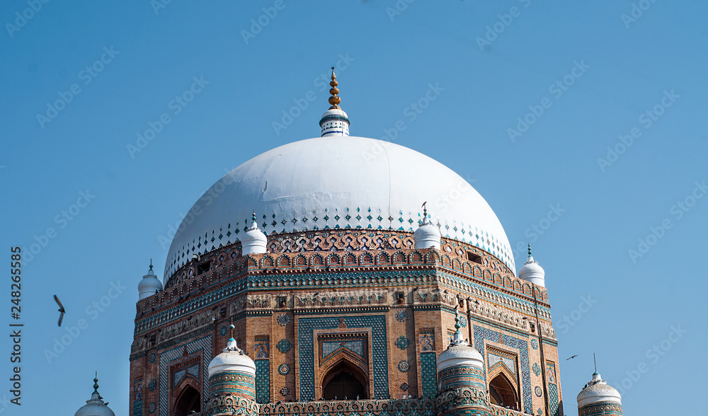 Fototapety, obrazy: A dome of the tomb in the Multan