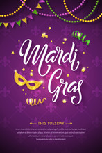 Mardi Gras Brochure. Fat Tuesd...