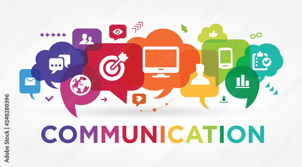 Fototapety, obrazy: communication