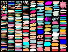 Big Set Of Colorful Brush Stro...