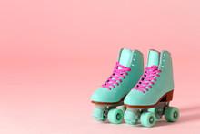 Pair Of Vintage Roller Skates ...