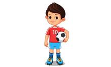 Cute Little Soccer Player 3
