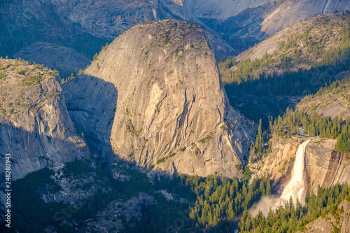 Photo  Yosemite National Park Valley summer landscape, Glacier Point