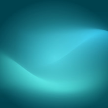 Teal Background Glow Curve