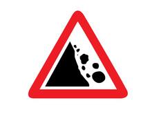 Traffic Signs Falling Rocks